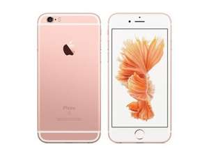 QUICK! expires 2am - Apple iPhone 6s 16GB Rose Gold (Sim Free / Unlocked) refurbished :Argos ebay - £341.10 with code
