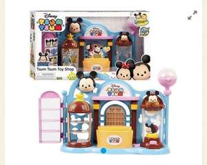 Disney Tsum Tsum Playset (comes with 2 tsums) £9.50 @ Tesco free C+C