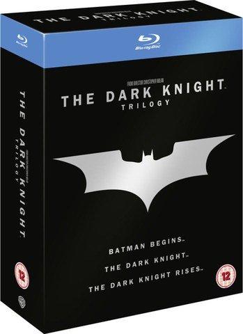 The Dark Knight Trilogy Blu-ray  £9.99 @ Zavvi