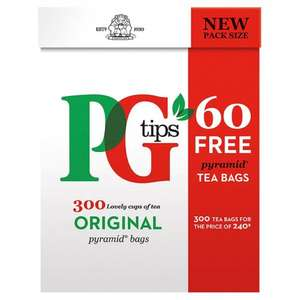 B&M Stores - PG Tips 300 bags £3.50