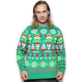 70% Off Teenage Mutant Ninja Turtles Christmas Jumper - Now £9.99 (+ £2 Delivery) £11.99 @ Forbidden Planet