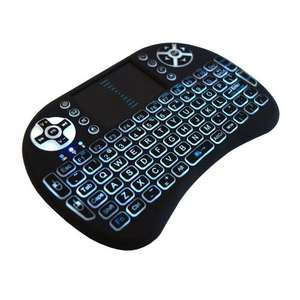 JUSTOP Backlit Mini Wireless Keyboard With Touchpad - £10.36 prime / £14.36 non prime Sold by DigiDirect and Fulfilled by Amazon