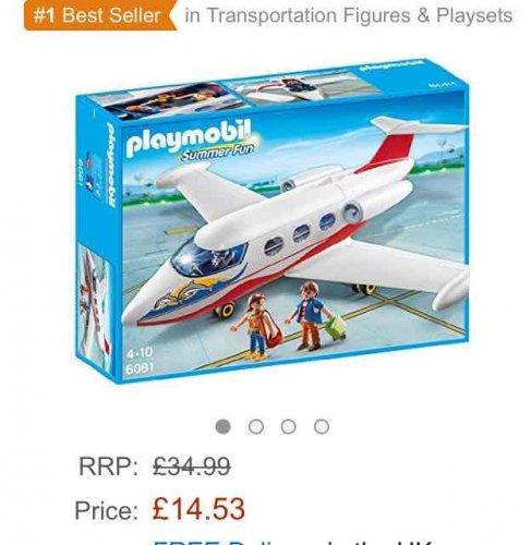 Playmobil Summer Jet £14.53 Prime or £19.28 non prime @ Amazon