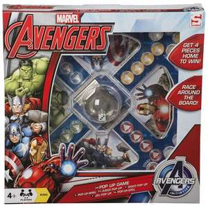Marvel Avengers Pop Up Game Was £9.99 Now £4.99 (Click & Collect Available) ToysRus