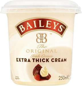 Baileys Extra Thick Cream (250ml) was £1.90 now 2 for £3.00 @ Tesco