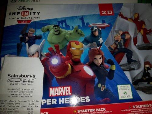 Disney Infinity 2.0 Marvel Super Heroes starter pack £7.99 @ Sainsbury's