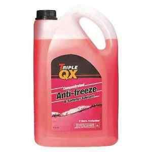 Triple QX 5L Red AntiFreeze Summer Coolant Concentrate 5 Litre GL12+ Standard £12.59 inc delivery on Ebay
