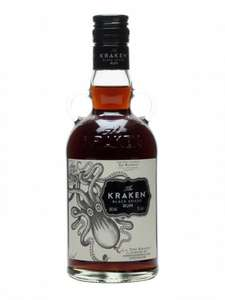 Kraken Spiced Rum 70cl £16.49 prime / £21.24 non prime - Amazon (lightning deal)