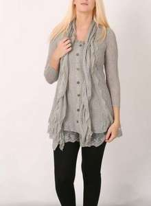 izabel London grey tunic £15 @ dorothyperkins free C+C sale ends tomorrow