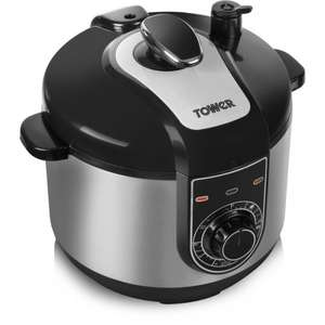 Tower T16004 5L Electric Pressure Cooker £38 at Zavvi or IWOOT