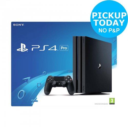 Sony PlayStation PS4 Pro 1TB 4K Console - £315.00 - eBay/Argos (Code: CEBAYARGOS)