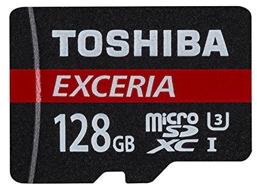Toshiba Exceria 128GB MicroSD card (Class 10+, U3, 4K, 90MB/s etc) £24.79 @ Amazon