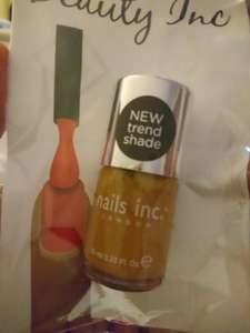 nails Inc nail polish in poundland 10ml great stocking fillers! £1