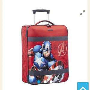 samsonite kids cabin cases: captain America and Minnie Mouse half price £32.50 @ Tesco Direct