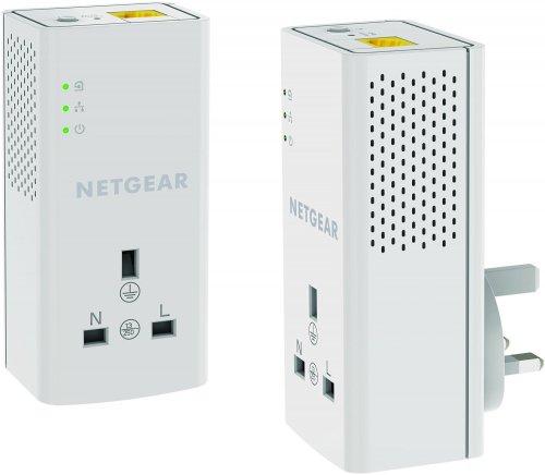 NETGEAR 1200 Mbps Powerline Ethernet Adapter Homeplug Twin Pack £31.49 @ Amazon Lightning Deal