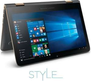"HP Spectre x360 13.3"" FHD 2 in 1 - Ash Silver £899 with code @ PC World"