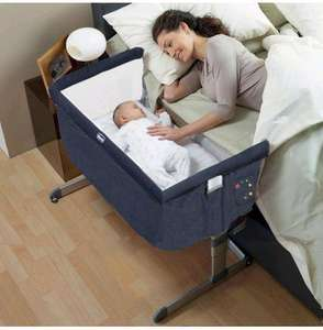 Chicco Next 2 Me Side Sleeping Crib Denim £129 @ Online4baby.com