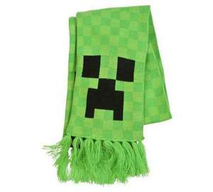 Minecraft Scarf - £6.66 @ Argos ideal christmas wrap up Dont let the price scare you :)