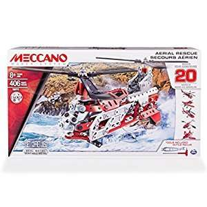 MECCANO 20 Model Set - Helicopter 6028598 £30 inc C&C @ Tesco Direct