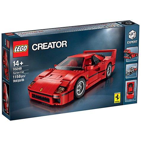 [Expired] LEGO Creator 10248 Ferrari F40 £55 @ John Lewis (RRP £69.99)