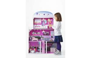Chad Valley 4 Storey Glamour Mansion Dolls House (60% off) - £49.99 @ Argos