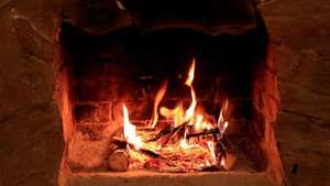 FREE Christmas Scenes from Sky. Crackling Log Fires and Snow Scenes