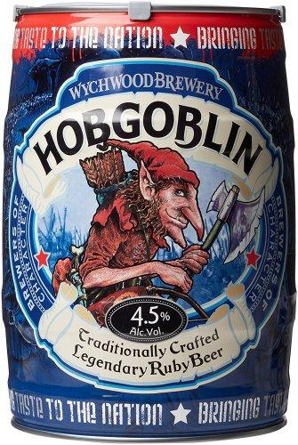 Wychwood HobgoblinAle Mini Keg, 5 L £13 (Prime) + delivery @ Amazon
