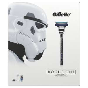 Gillette Mach3 Turbo Razor Plus Two Razor Blades and 75 ml Gel Star Wars Gift Set at Amazon UK £5 (with £1 voucher)