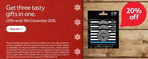 20% Off Pizza Express £30 Multi-Pack Gift Cards