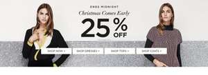 25% off selected styles at Dorothy Perkins from £1.87
