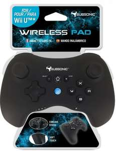 [On Backorder] Subsonic Wii U Pro Controller - £15.99 @ Amazon (Non-Prime £17.98)