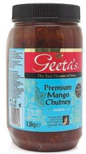 Geeta's Premium Mango Chutney 1.5kg £2.69 at Costco