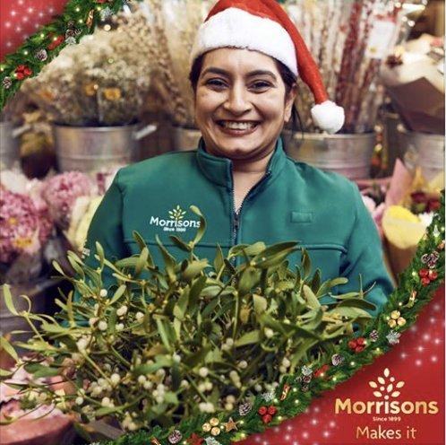 Free Sprig of Mistletoe - Morrisons