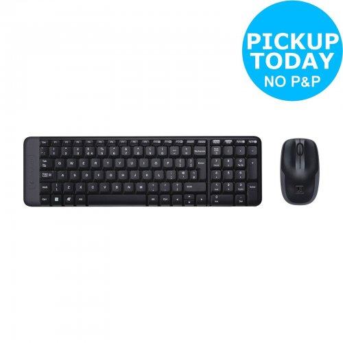 Logitech MK220 Wireless Keyboard and Mouse £13.49 @ Argos/Ebay & Argos Instore