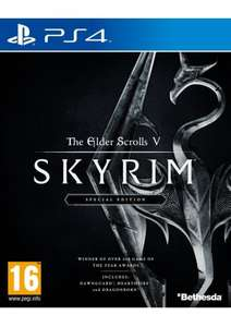 The Elder Scrolls V: Skyrim Special Edition (PS4) - £24.85 @ Simply Games