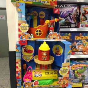 pip ahoy toys £9.99 each instore @ Home Bargains