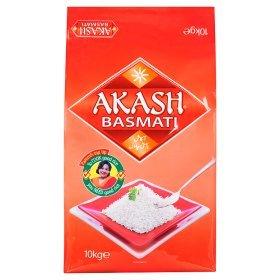 Akash Basmati Rice 10kg Was £16 Now £7.50 (Rollback Deal) @ ASDA