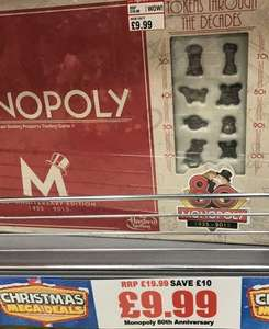 Monopoly 80th Anniversary edition £9.99 @ This Is It...in Store