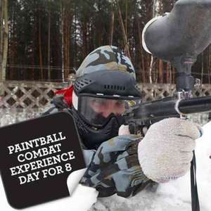 paintball for 8 people £19.99 at gettingpersonal.co.uk