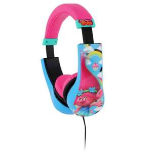 Kid Safe Headphones. Trolls, Avengers, DC Superhero Girls £6.99 instore Home Bargains