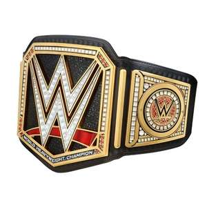 WWE Title Belts on sale + 25% off from £202.25 delivered @ WWEShop