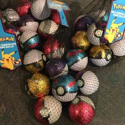 Pokémon Pokéball Chocolates B&M £1.99!