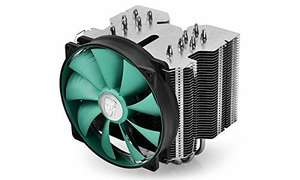 DEEPCOOL Lucifer V2 CPU Cooler 140mm Silent PWM Fan 6 Heatpipes £19.99 Sold by DEEPCOOL and Fulfilled by Amazon.