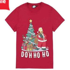 Simpsons Doh Ho Ho xmas tshirt s-xxxl was £8 £5 @ Tesco direct