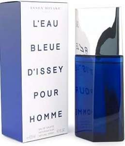 Issey Miyake L'Eau Bleue d'Issey EDT Spray for Men 125 ml  just £24.26 (was £44.00 ) + Free Delivery @ Amazon