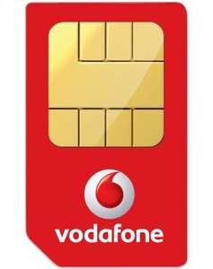 Vodafone Sim Only 20GB Data  Unlimited mins texts £266.40 (£10 pm After Cashback) @ Mobiles.co.uk