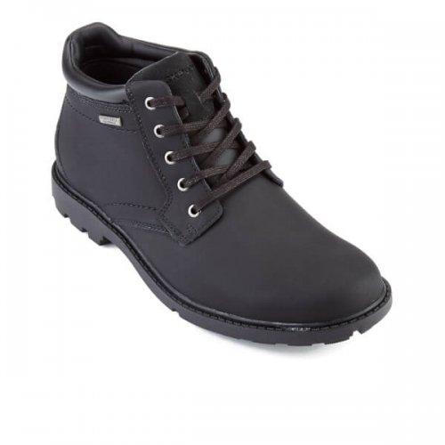 Rockport Men's Storm Surge WP Plaintoe Boots - Black £47.99 Save: £52.01 FREE UK Delivery available @ ZAVVI