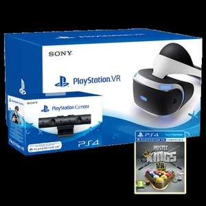 Ps vr with camera and hustle kings on shopto.net - £407