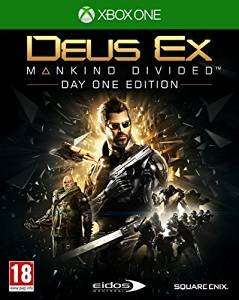 Deus Ex: Mankind Divided Day 1 Edition + Deus Ex: Mankind Divided Cloth Poster @ Shopto for £19.85