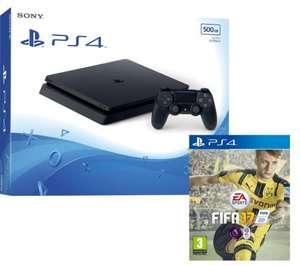 PS4 Slim 500GB + Fifa 17 or Battlefield 1 @ Currys with free delivery - £227.99